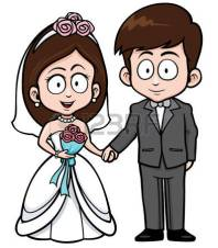 35797365-ilustraci-n-del-vector-de-pares-de-la-boda-de-la-historieta-con-el-ramo-de-flores